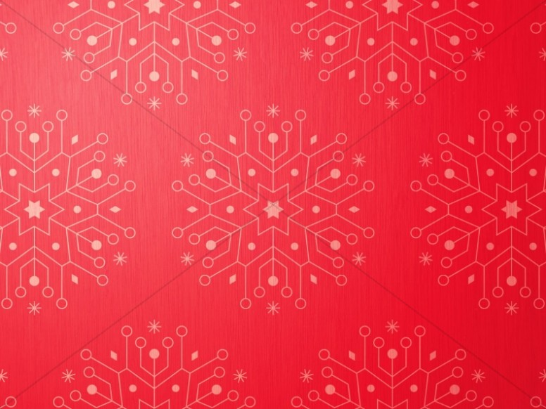 Snowflake Christmas Invitation Ministry Worship Background
