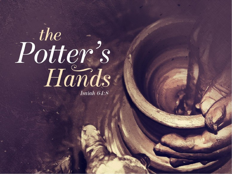 The Potter's Hands Christian Sermon PowerPoint
