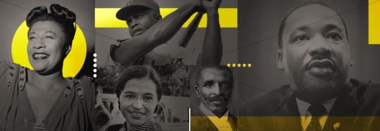 Black History Celebration Church Website Banner