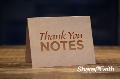 Thank You Notes Thanksgiving Mini Movie