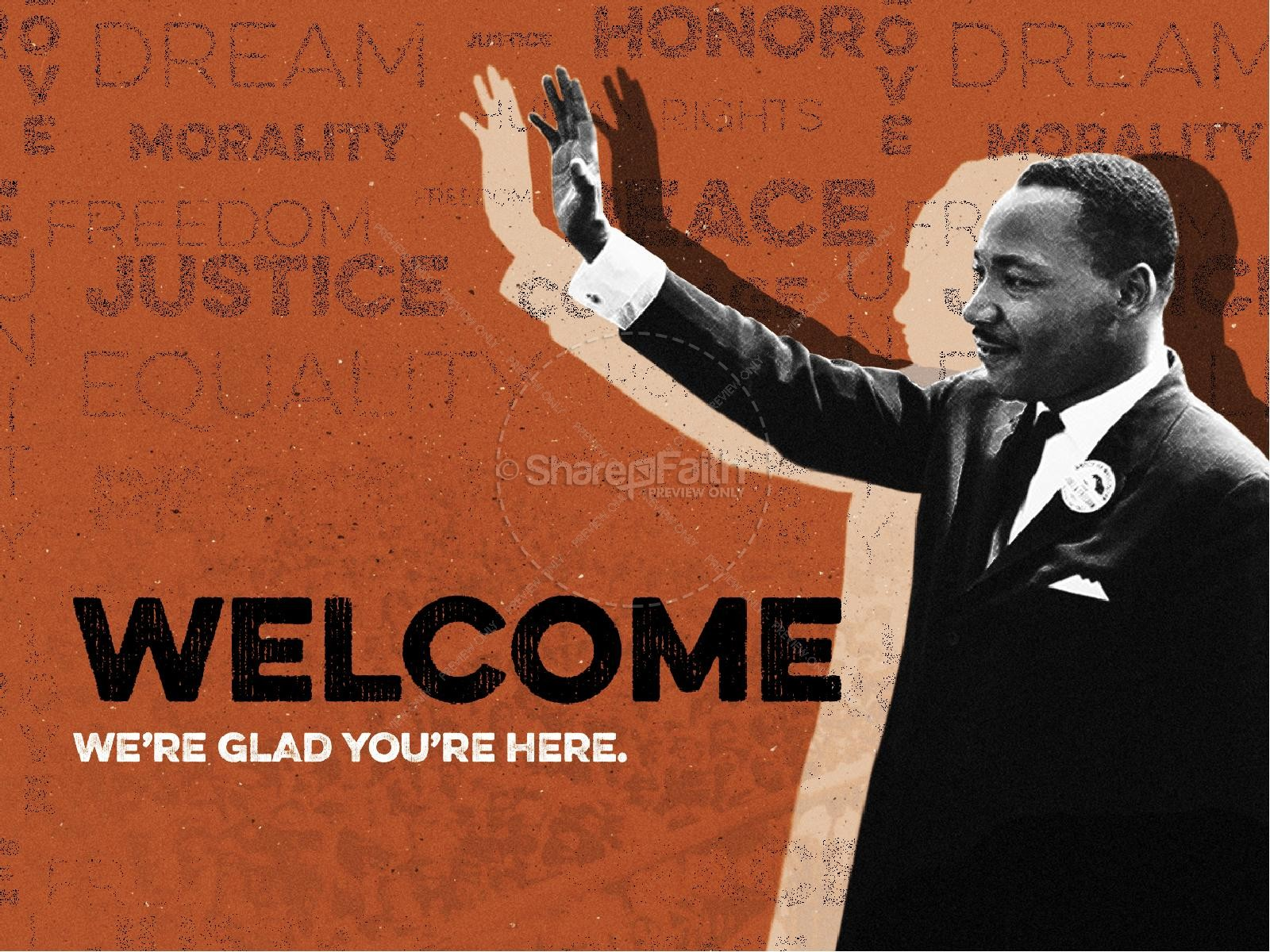 MLK Day Christian Church PowerPoint