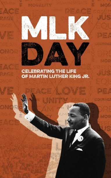 MLK Day Christian Church Banner