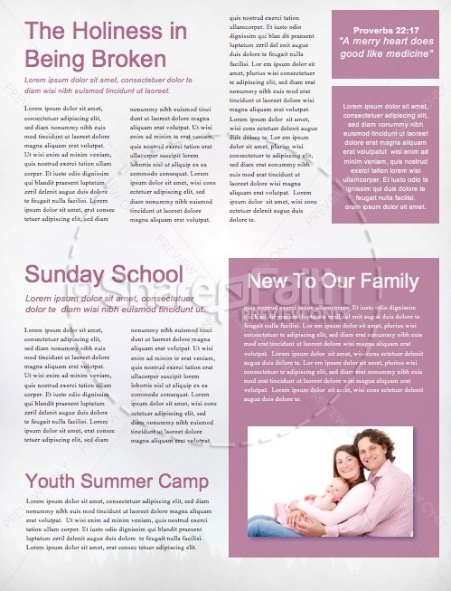 Expect a Miracle Christian Newsletter