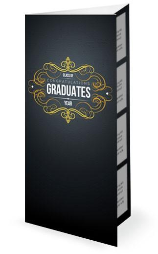 Graduation Party Church Trifold Bulletin