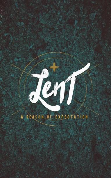 Lent and Expectation Christian Church Bulletin