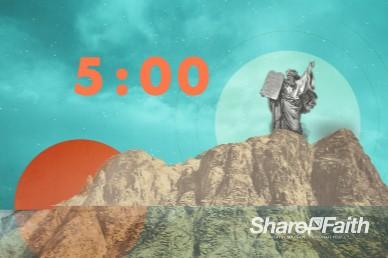 Understanding the Ten Commandments Countdown Video Loop