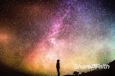 Impossible Galactic Creation Worship Video Loop