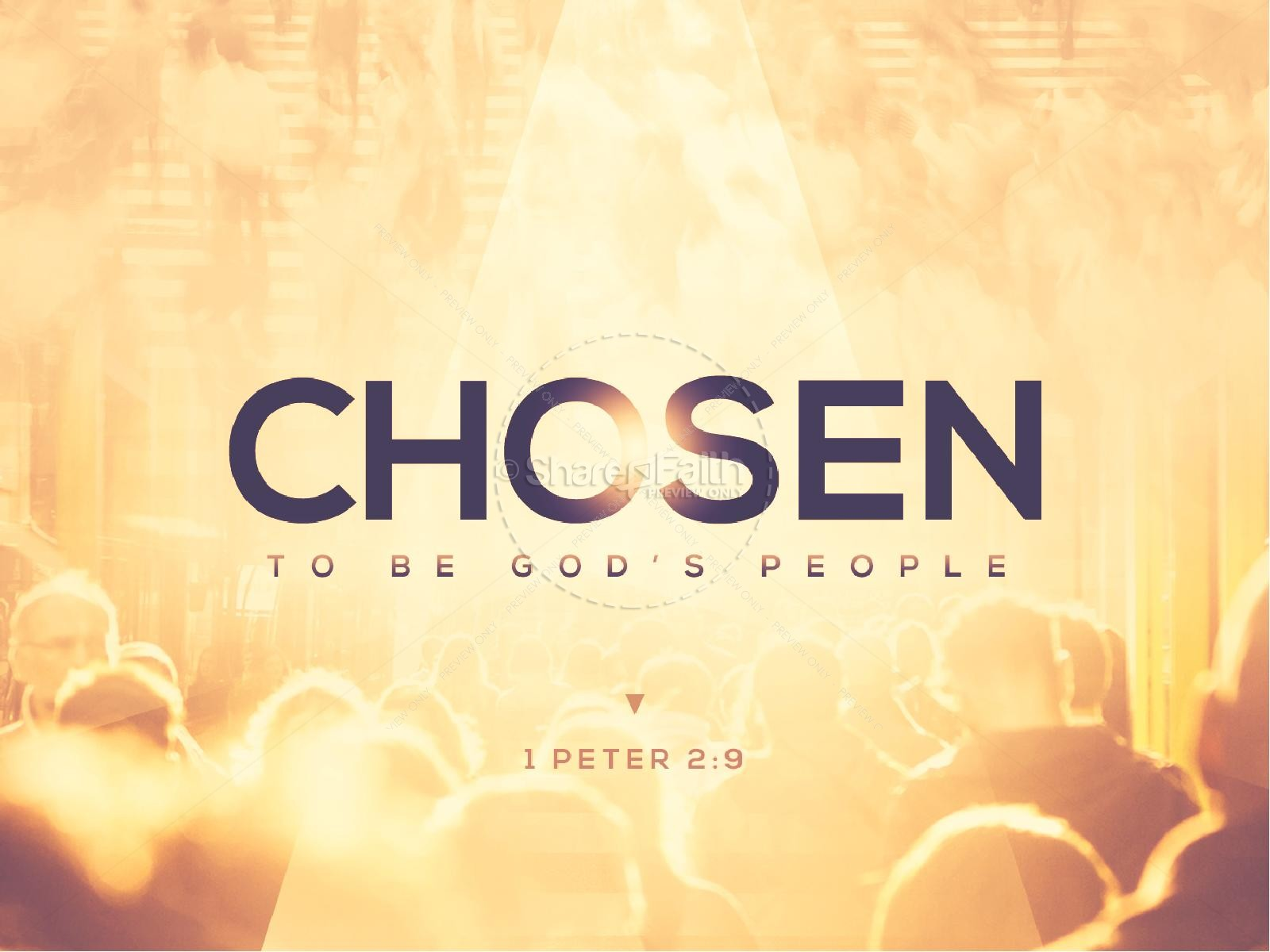 Chosen to Be God's People Sermon PowerPoint