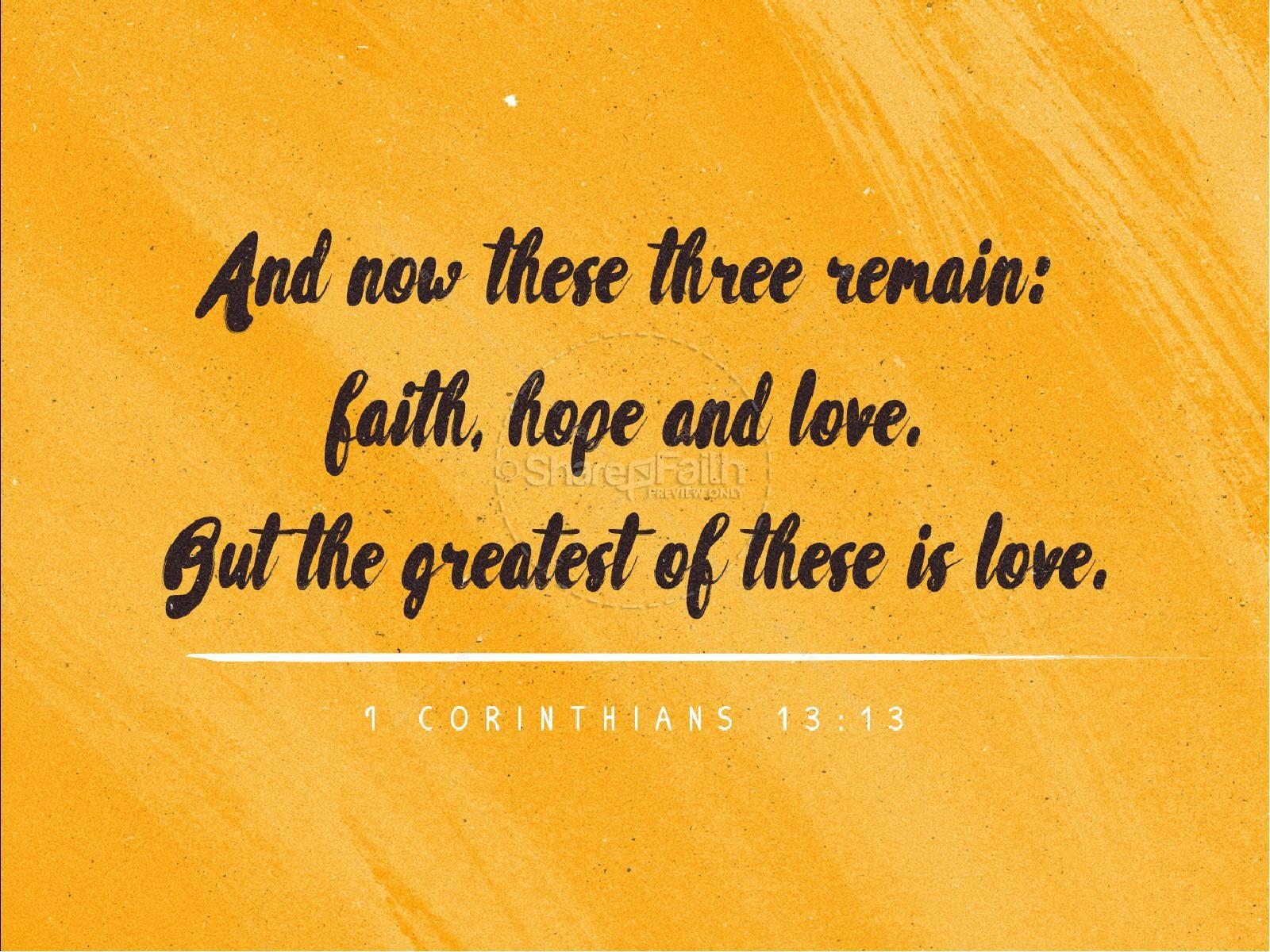 The Power of Love Valentine's Day Sermon PowerPoint