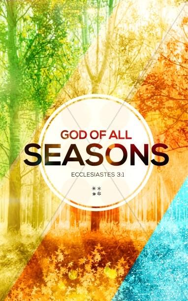 God of All Seasons Church Bulletin