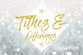 Winter Communion Tithes and Offering