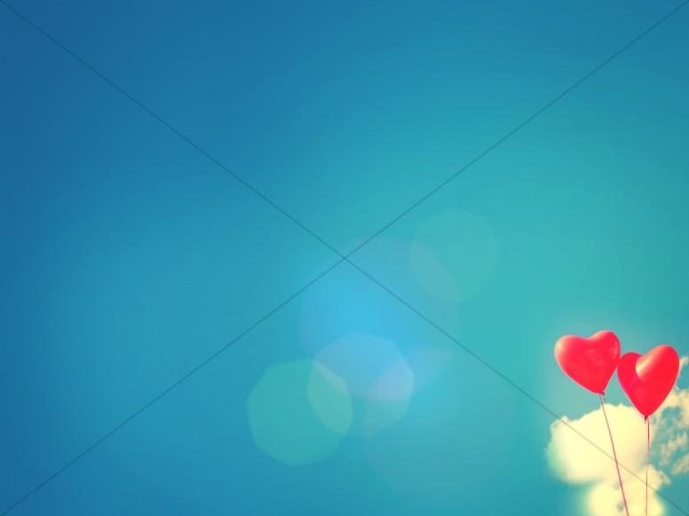 Celebrating Love Valentine's Day Church Worship Background
