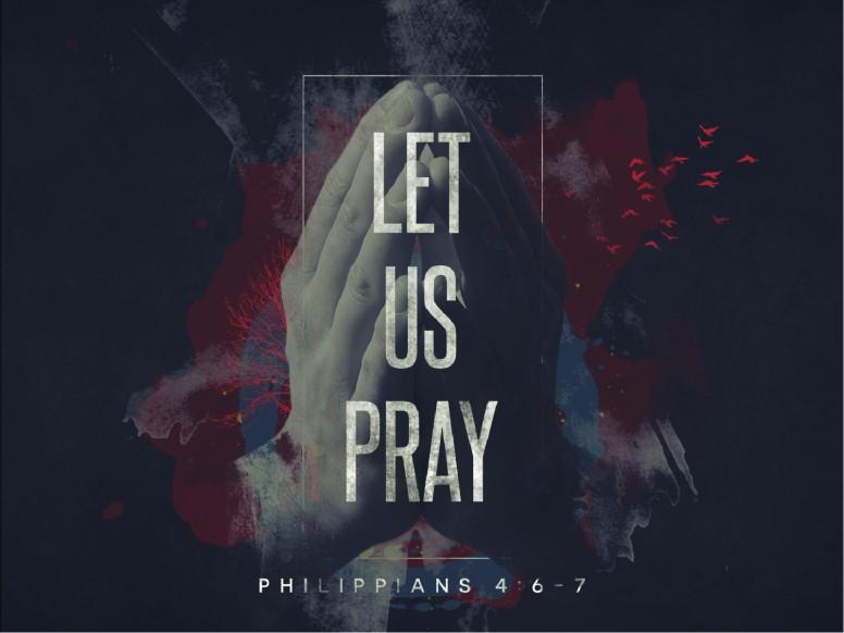 Let Us Pray Church Sermon PowerPoint
