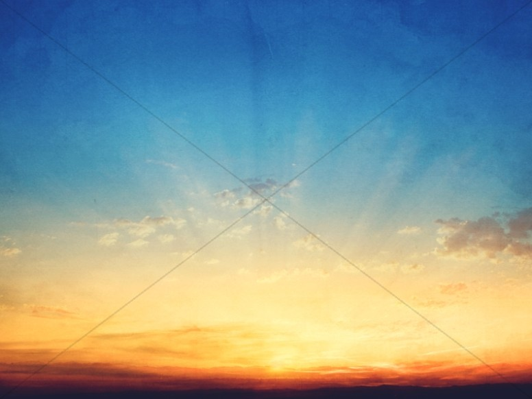 Happily Ever After Marriage Church Sky Worship Background