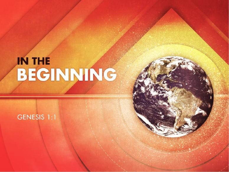 Genesis In the Beginning Church PowerPoint