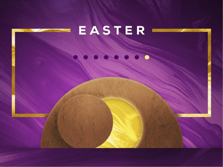 Easter Resurrection Sunday Modern Church PowerPoint