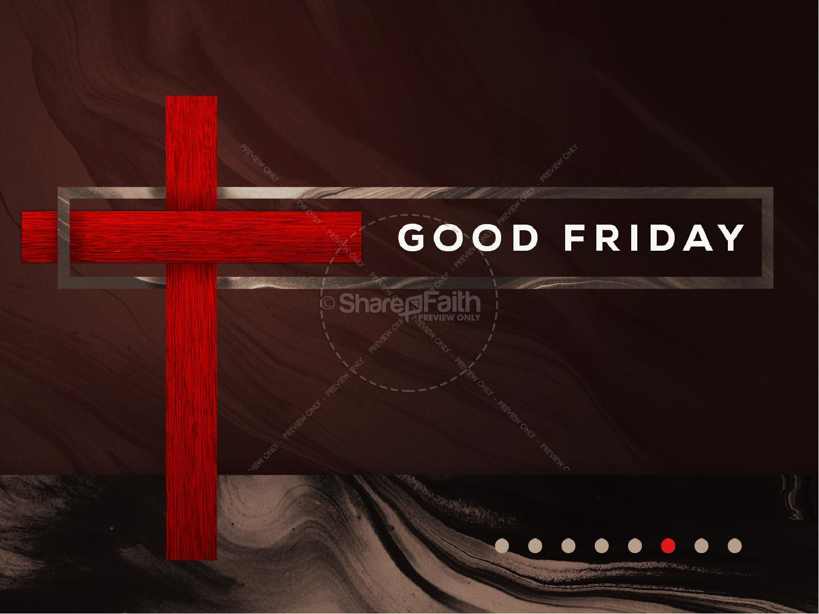 Good Friday Modern Church PowerPoint
