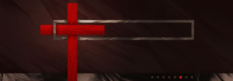 Good Friday Modern Church Website Banner