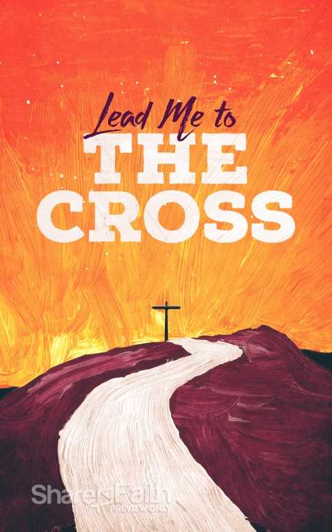 Lead Me to the Cross Painted Church