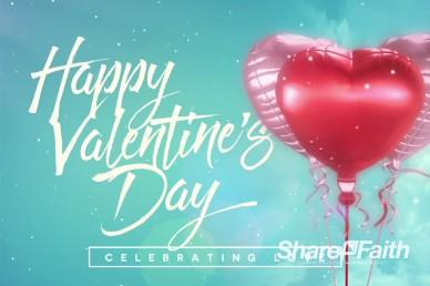 Celebrating Love Valentine's Day Title Video Loop