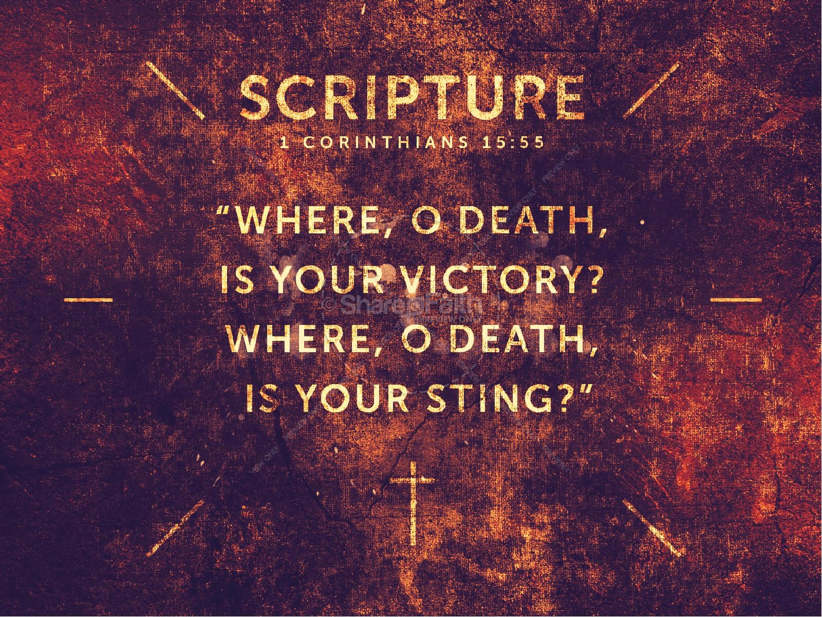 Death Arrested Church Sermon PowerPoint | slide 4