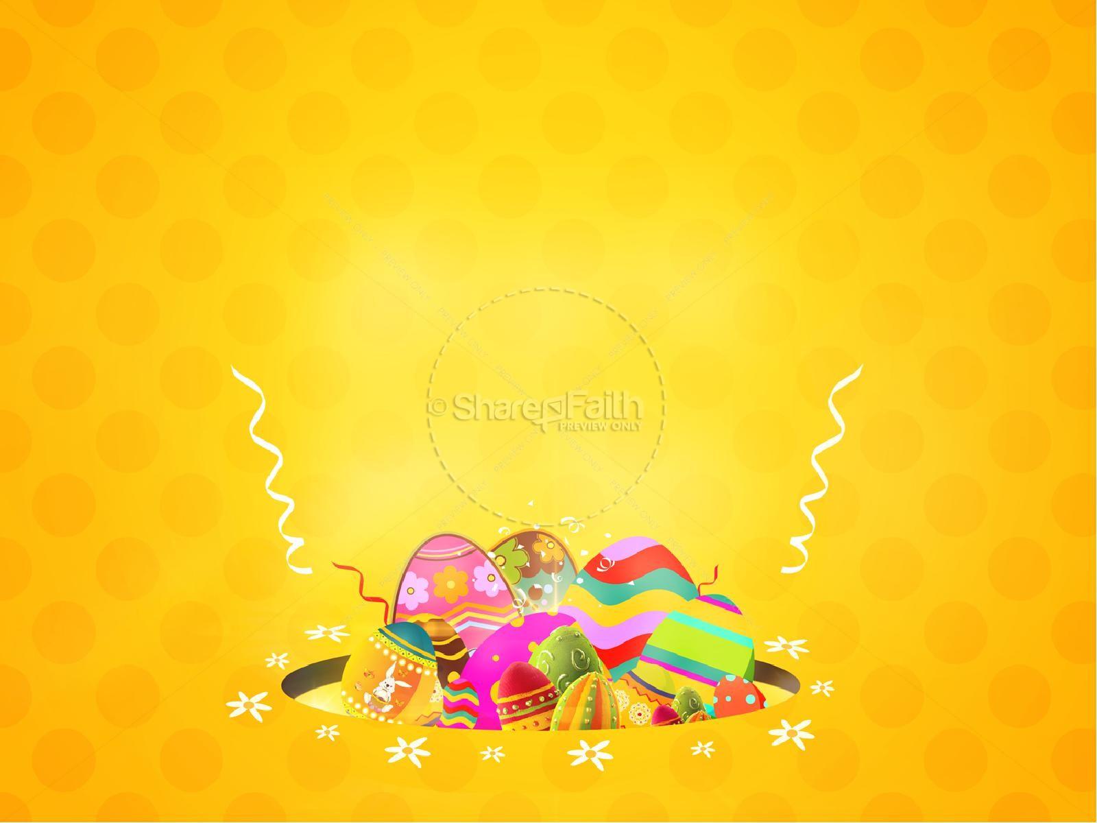 Easter Egg Hunt Church PowerPoint