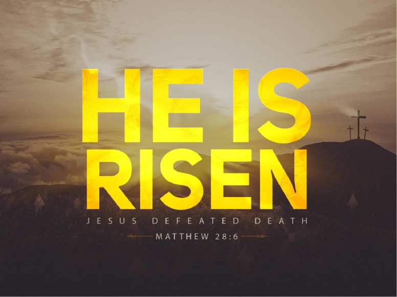 He Is Risen Christian PowerPoint