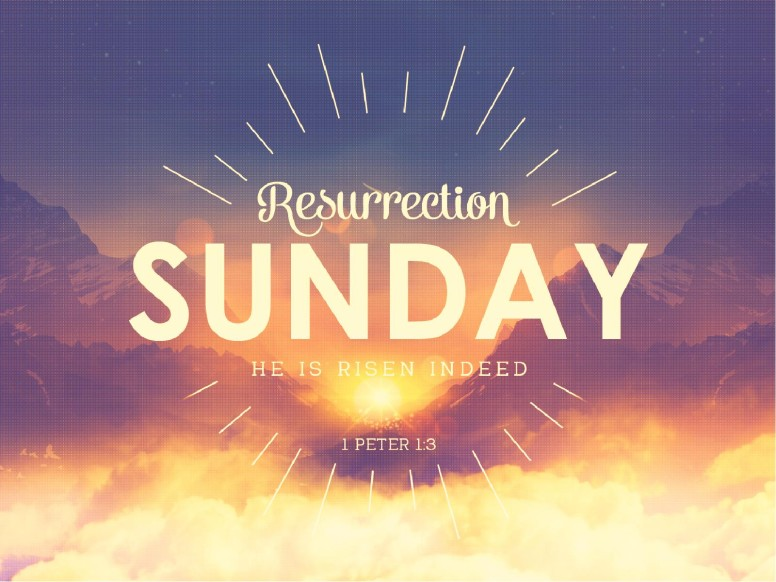 Resurrection Sunday Sunrise Church PowerPoint