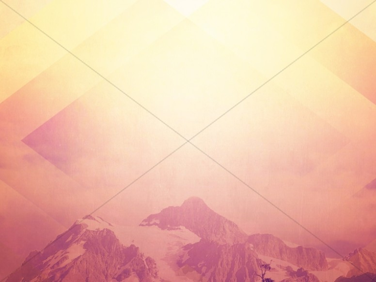 Light of Heaven Mountain Worship Background