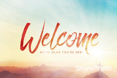 Risen Easter Sunday Welcome Video