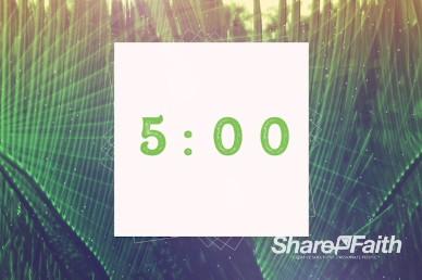 Palm Sunday Hosanna Countdown Timer Video