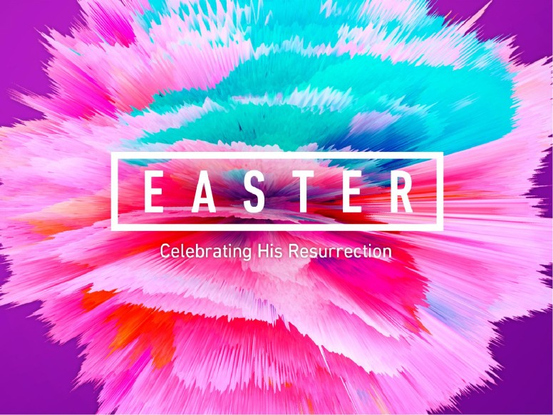 Easter Abstract Christian PowerPoint