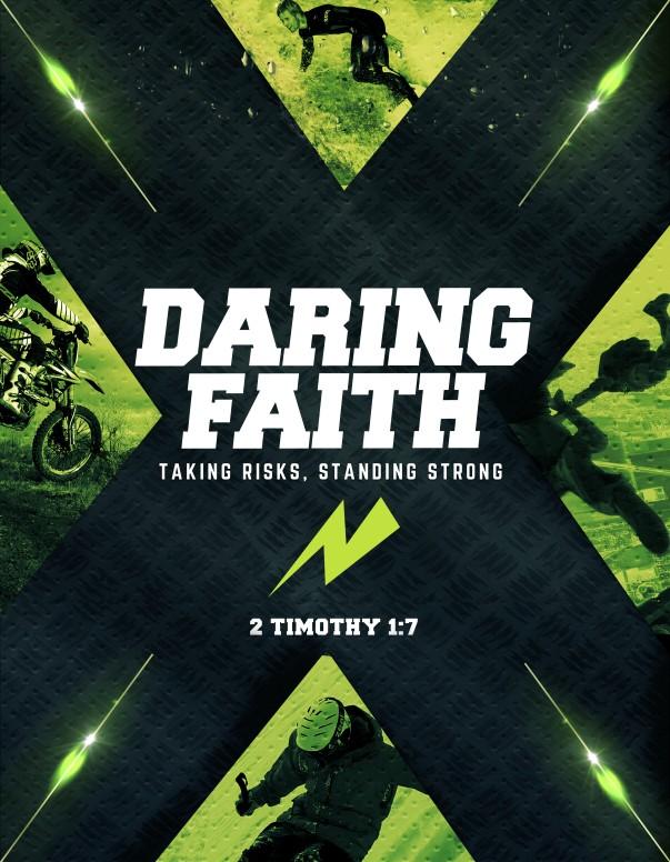 Daring Faith Christian Flyer