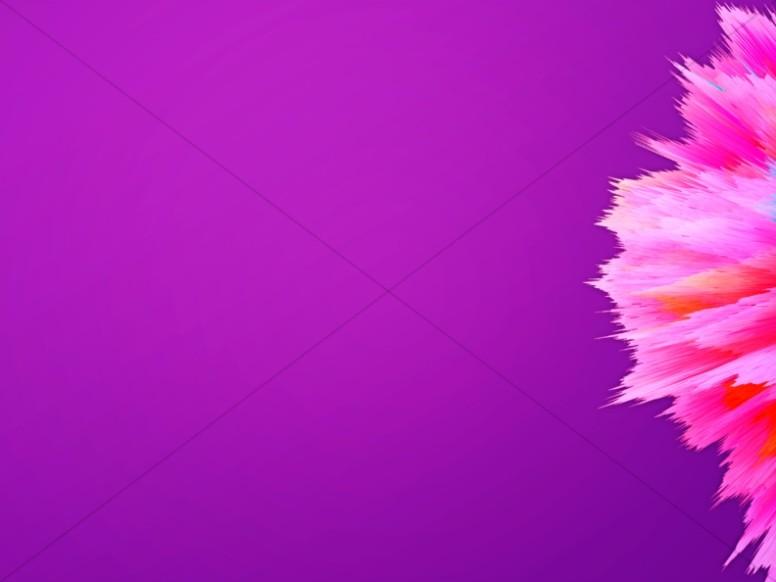 Purple Abstract Brushstroke Worship Background