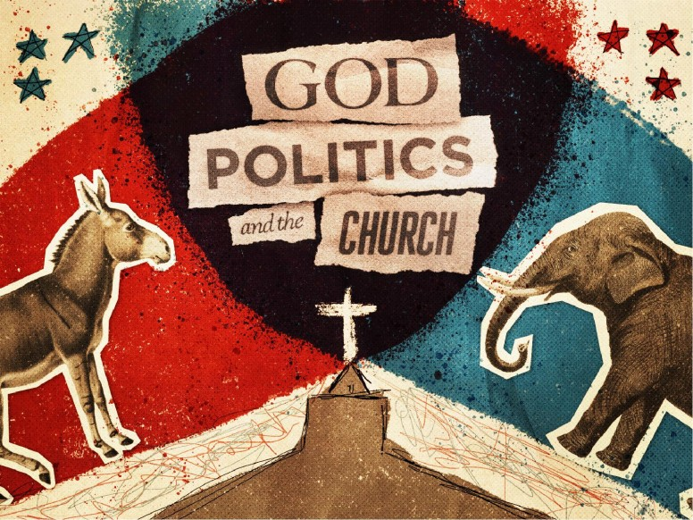 God, Politics, and the Church Sermon Powerpoint
