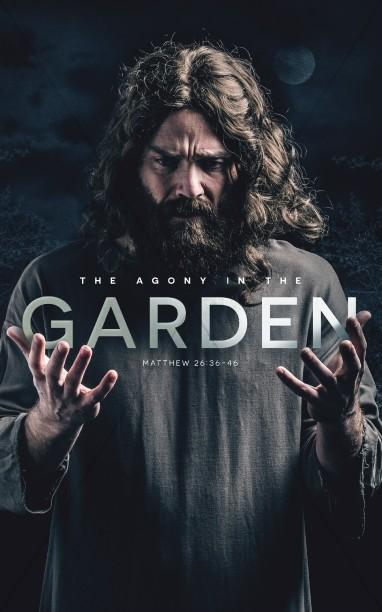 Agony in the Garden Church Bulletin