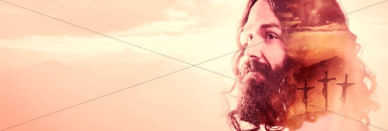 He's Alive Easter Church Website Banner