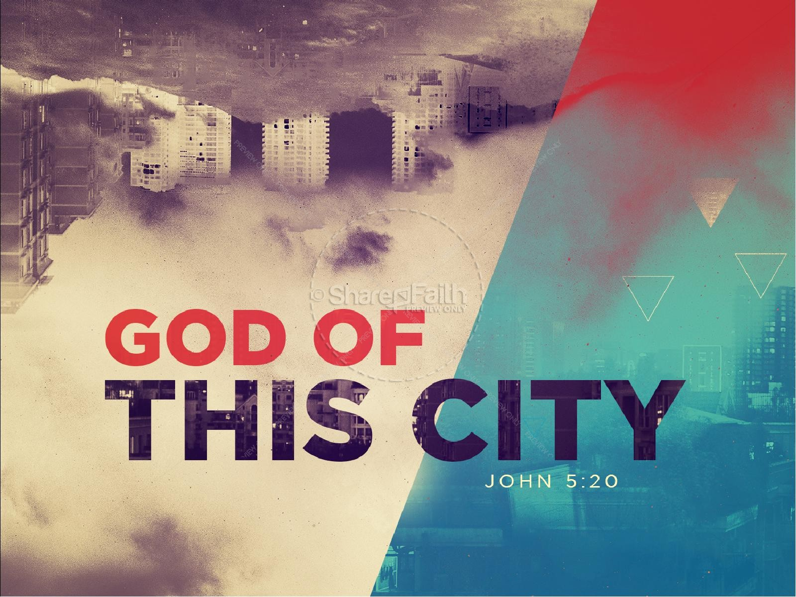 God of this City Church PowerPoint