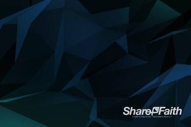 Dark Shifting Polygons Worship Motion Background