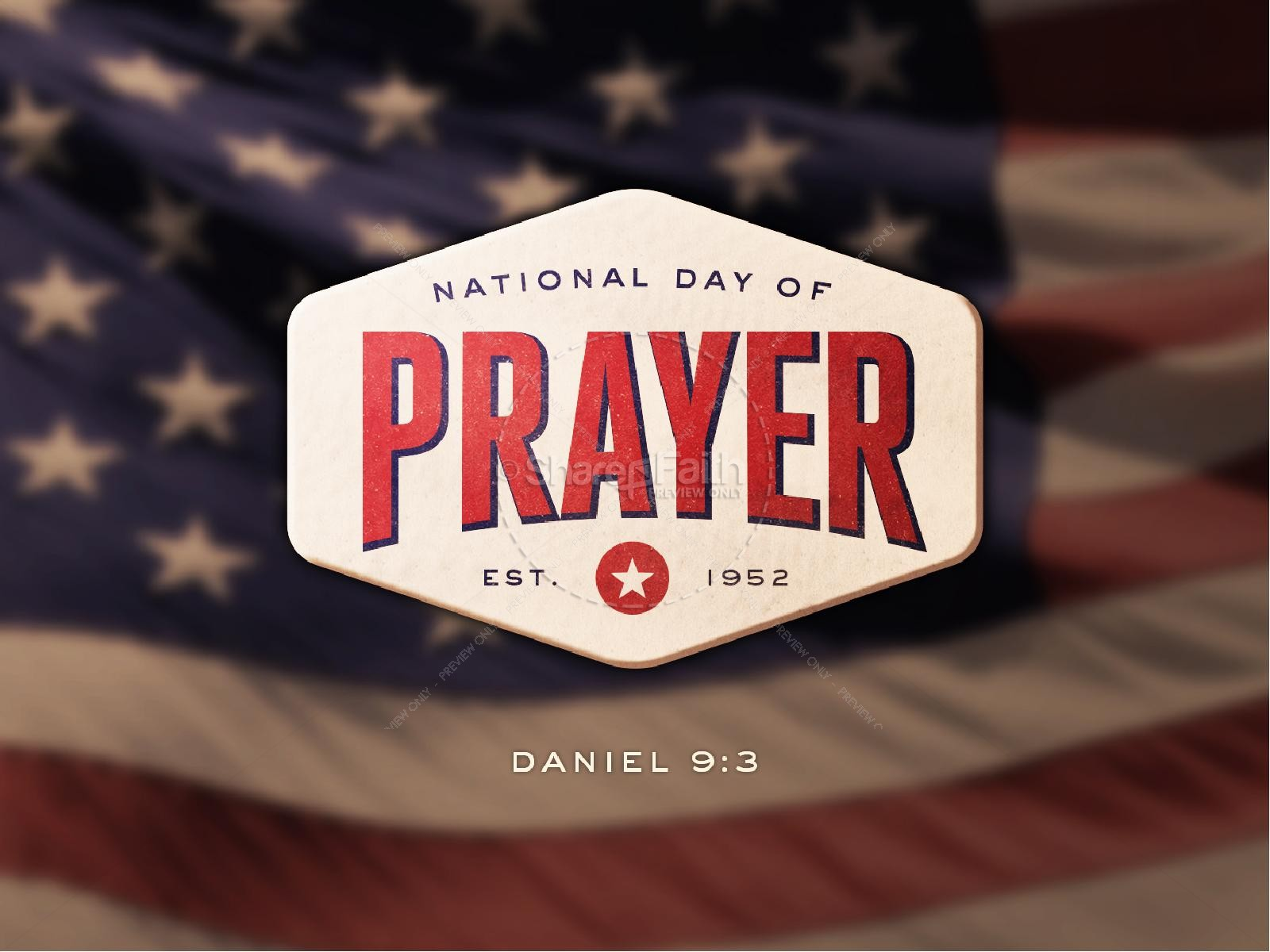 National Day of Prayer Sermon PowerPoint | slide 1
