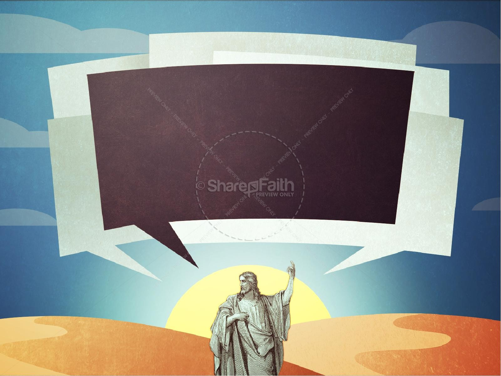The Stories of Jesus Church PowerPoint