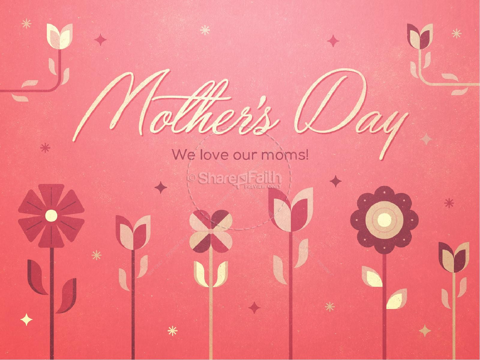 Mother's Day Christian Sermon PowerPoint