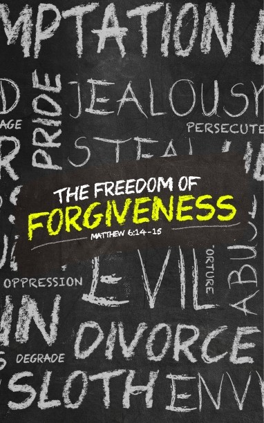Freedom of Forgiveness Church Bulletin