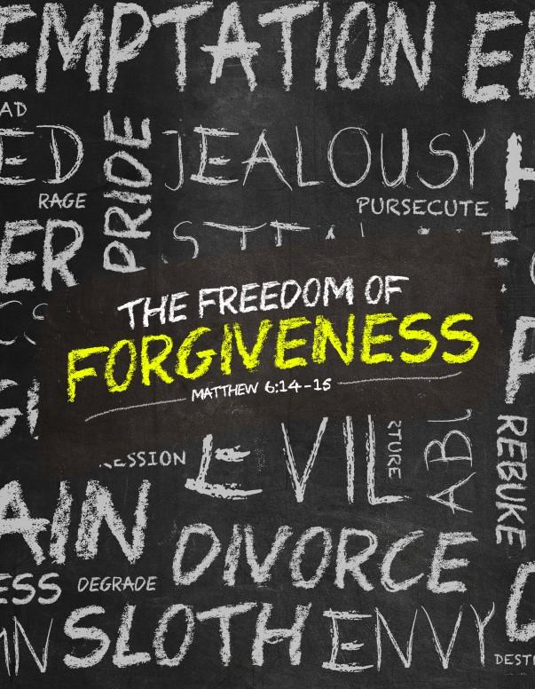 Freedom of Forgiveness Church Flyer