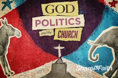 God, Politics, and Church Title Video Loop