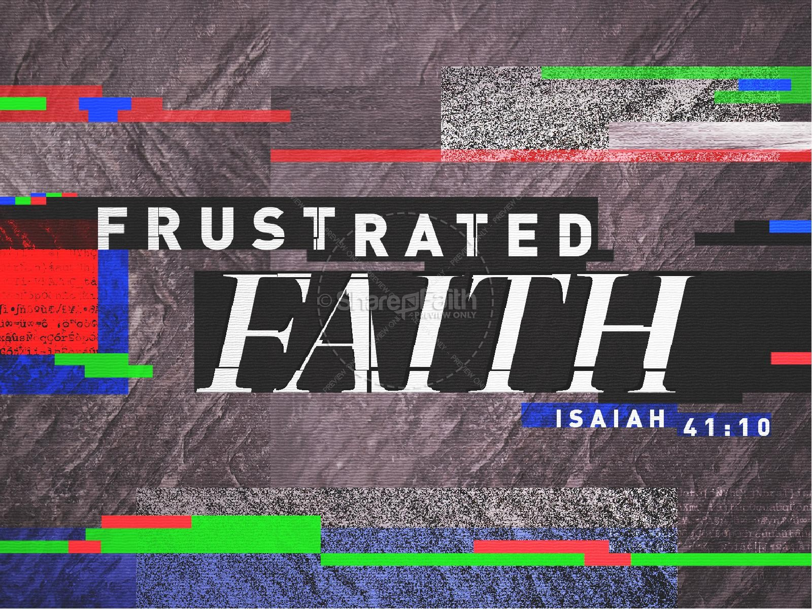 Frustrated Faith Church PowerPoint