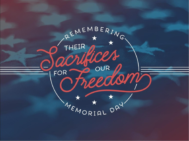Remembering Their Sacrifices Memorial Day Church PowerPoint