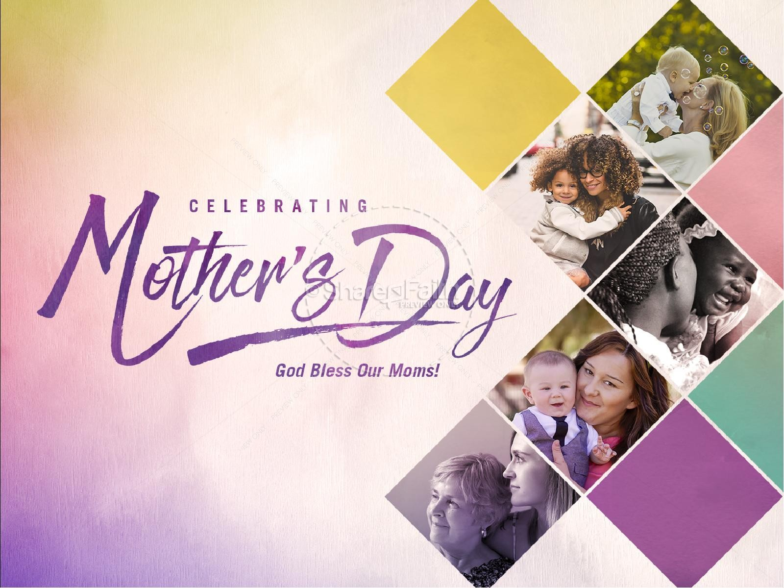 Celebrating Mother's Day Church PowerPoint
