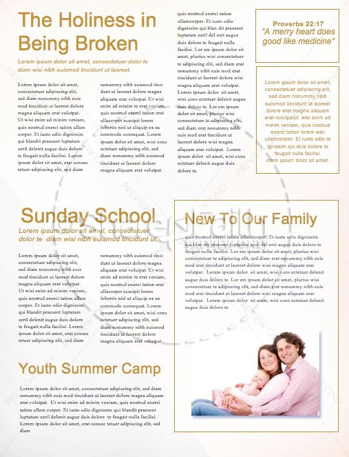 Virtuous Woman Church Newsletter | page 2