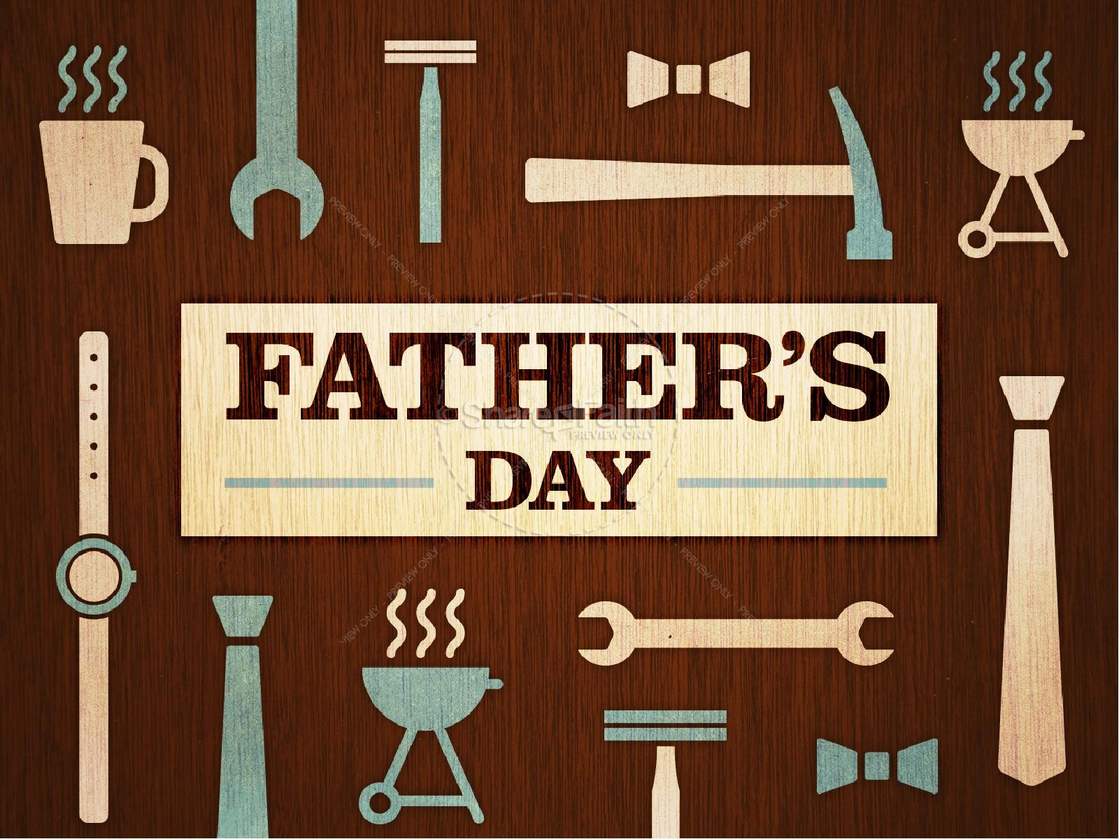 Father's Day Tools and Gear Church PowerPoint